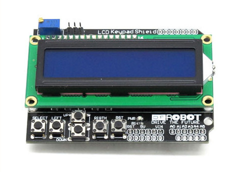 Keypad Shield for Arduino Duemilanove Robot & LCD 1602